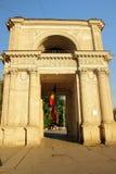 Victory Arch en Chisinau por la tarde, Fotografía de archivo libre de regalías