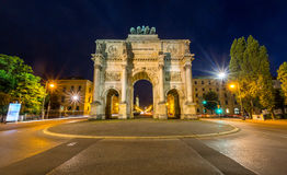 Victory Arch in Munich Royalty Free Stock Photo