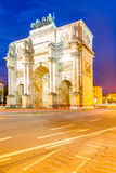 Victory Arch in Munich Royalty Free Stock Images