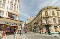 Victory Avenue In Bucharest Royalty Free Stock Images