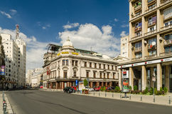 Victory Avenue Downtown Bucharest Stock Images