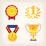 Victory awards signes and symbols Stock Photography