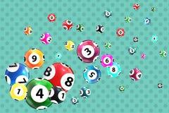 Victory Ball para el juego de la lotería Pote de Jack Illustrat del vector Foto de archivo