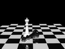Victory chess Royalty Free Stock Photo