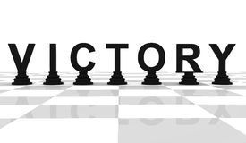 Victory Chess Stock Photos