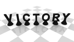 Victory Chess Stock Images
