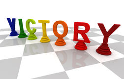 Victory Chess Stock Photography