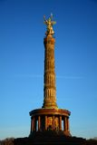 Victory Column in Berlin Stockbild