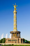 Victory column in berlin, germany Stock Images