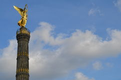 Victory Column in Berlin , Germany Royalty Free Stock Photos