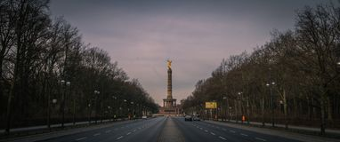 Victory Column in Berlin, Germany royalty free stock image