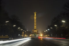 Victory column in Berlin, Germany Stock Photos