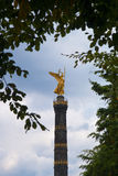 Victory Column in Berlin - Siegessaeule Stock Photos