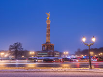 The Victory column in Berlin Stock Photography