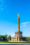 Victory Column in Berlin on sunny day Royalty Free Stock Photo