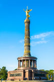 Victory Column in Berlin on sunny day Royalty Free Stock Photos