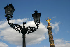 Victory column monument. Victory monument in Berlin Royalty Free Stock Image