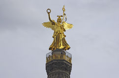 Victory Column Tiergarten. Berlin Stock Photo