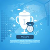 Victory Concept Business Web Banner   Royalty Free Stock Photo