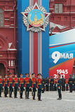 Victory Day 2012 Royalty Free Stock Photo