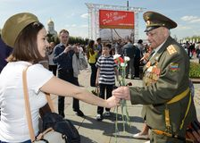 Victory Day Stockfotos