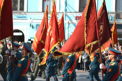 Victory Day 2013 Fotografía de archivo libre de regalías