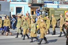 Victory Day 2013 Imagen de archivo libre de regalías