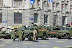 Victory Day 2015 Royaltyfri Fotografi