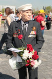 Victory day celebration in Moscow, 2013 Royalty Free Stock Photos