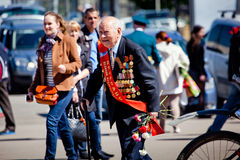 Victory day celebrations in Moscow Royalty Free Stock Image