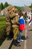 Victory Day ( 9 de mayo ) en el parque de Treptower Berlín, Alemania Fotos de archivo libres de regalías