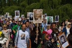 Victory Day ( 9 de mayo ) en el parque de Treptower Berlín, Alemania Fotos de archivo