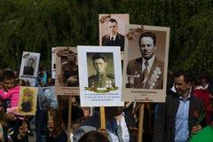 Victory Day ( 9 de mayo ) en el parque de Treptower Berlín, Alemania Foto de archivo libre de regalías
