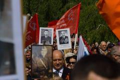 Victory Day ( 9 de mayo ) en el parque de Treptower Berlín, Alemania Imágenes de archivo libres de regalías