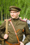 Victory Day ( 9 de mayo ) en el parque de Treptower Berlín, Alemania Imagen de archivo