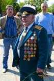 Victory Day in Kaliningrad. Russland Stockbilder
