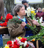 Victory day, Latvia Royalty Free Stock Image