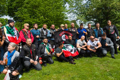 Victory Day &#x28 ; 9 mai &#x29 ; en parc de Treptower Berlin, Allemagne photo stock