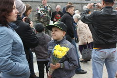 Victory Day on May 9. 69 anniversary of victory in Germany. Stock Image
