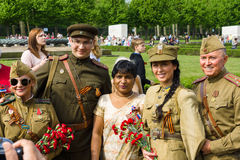 Victory Day (9 May) in Treptower Park. Berlin, Germany Royalty Free Stock Photos