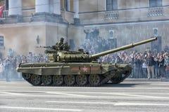 Victory Day Military-parade royalty-vrije stock fotografie