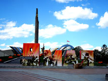 Victory Day in Minsk Stock Images
