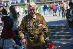 Victory day in Moscow Stock Images