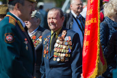 Victory day in Moscow Royalty Free Stock Images