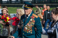 Victory day in Moscow Royalty Free Stock Photos