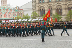 Victory Day 2012 Royalty Free Stock Photography