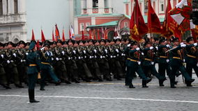 Victory Day. MOSCOW - MAY 9: Celebration of the 67th anniversary of Victory Day (WWII) in Red Square on May 9, 2012 in Moscow, Russia