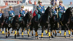 Victory Day. MOSCOW, RUSSIA - MAY 9, 2014: Celebration of the 69th anniversary of the Victory Day (WWII) on Red Square