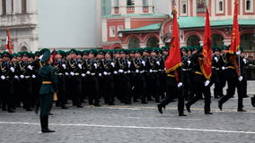 Victory Day. MOSCOW, RUSSIA - MAY 9, 2012: Celebration of the 67th anniversary of Victory Day (WWII) on Red Square