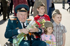 Victory Day Royalty Free Stock Photography